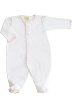 Load image into Gallery viewer, Layette Jersey Footy Romper