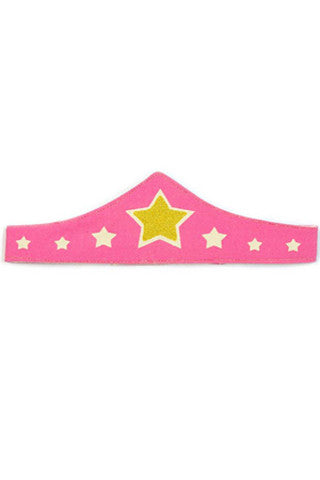 Pink Canvas Super Tiara
