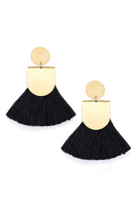 Pinna Tassel Earrings