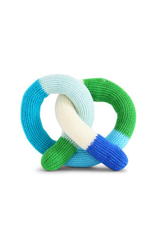 Pretzel Knit Rattle