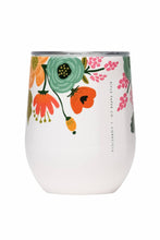 Load image into Gallery viewer, Lively Floral Stainless 12 oz. Wine Cup