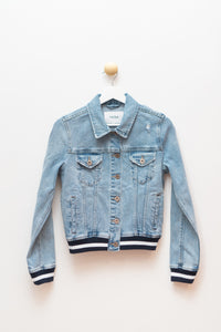 Brando Fitted Denim Jacket