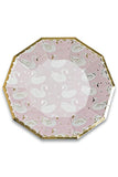 Sweet Princess Large Plates Set/8