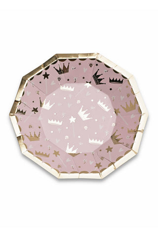 Sweet Princess Small Plates Set/8