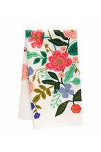 Load image into Gallery viewer, Floral Vines Tea Towel