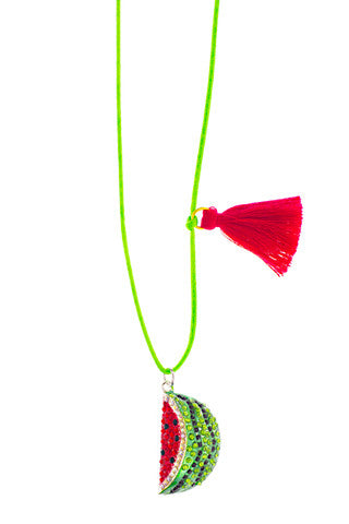 Watermelon Love Charm Necklace