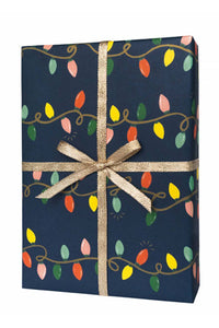 Holiday Lights Gift Wrap