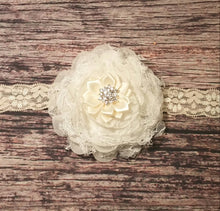 Fancy Big Chiffon Flower Headband - Princesses Design