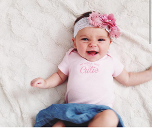 Dusty Rose and Lace Headband and Barefoot Sandal Set! - Princesses Design