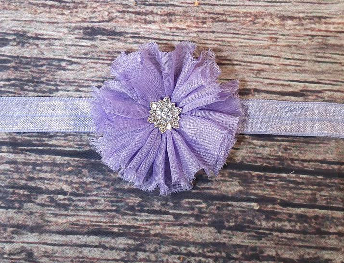 Ballerina Flower Headbands with Star Rhinestone Centers! 7 Colors! - Princesses Design