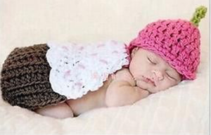 Adorable Baby Girl Crochet Photo Prop - Princesses Design