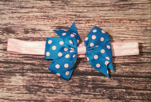 Polka Dot Bow Headbands - Princesses Design