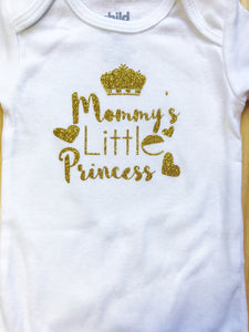 Mommy's Little Princess Onesie - Princesses Design