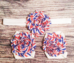 4th of July Headband Set - Princesses Design