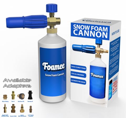 Fireball/Foamee Snow Foam Cannon Pack