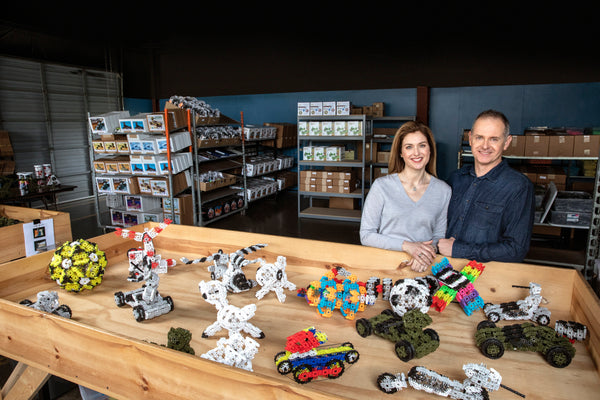 Heather & Mike - Lux Blox Founders and Inventors