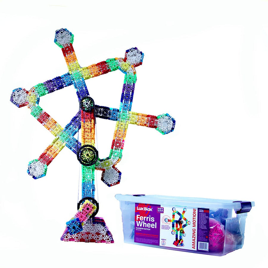 Lux Blox Rainbow Ferris Wheel – Rainbow Edition