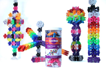 Lux Blox Mega Flexer – Rainbow Edition