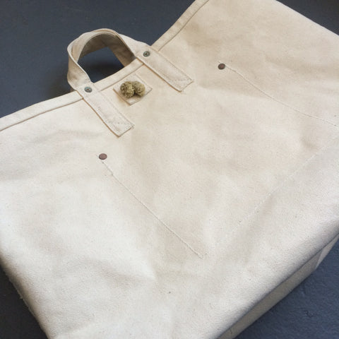 Utility Tote No. 3 in Natural