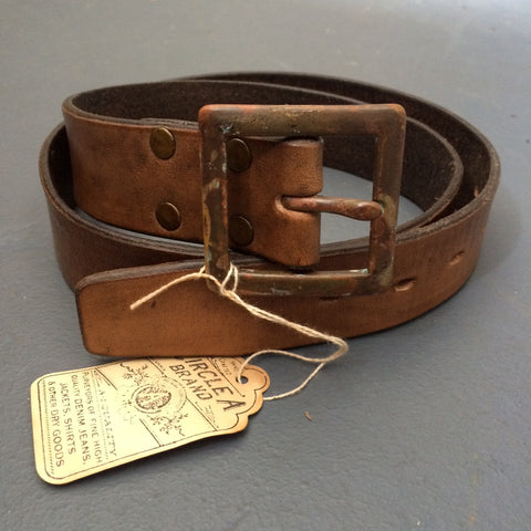 Forester Belt in Chestnut Brown