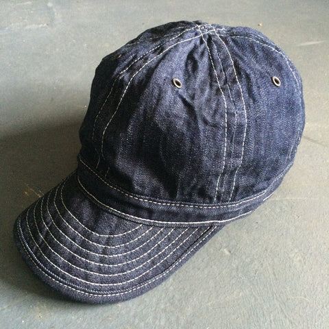 Field Cap in Denim