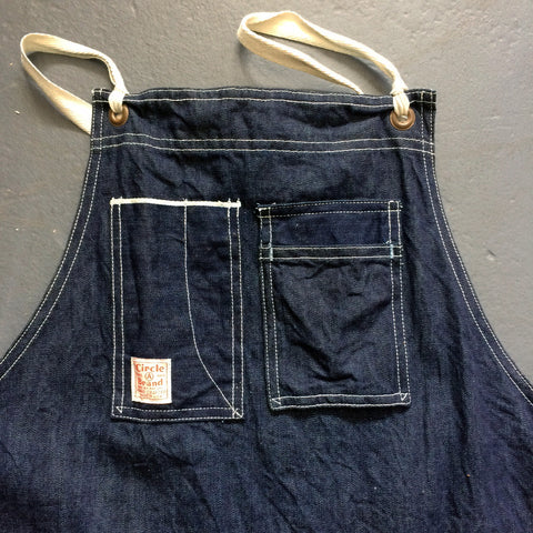 Shop Apron in Selvedge Denim