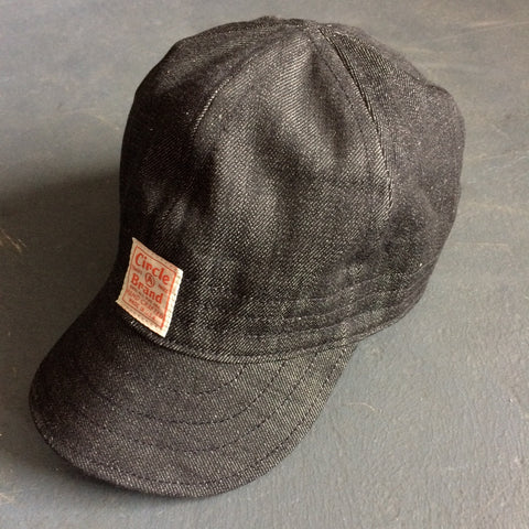 Foundry Cap in Black Denim