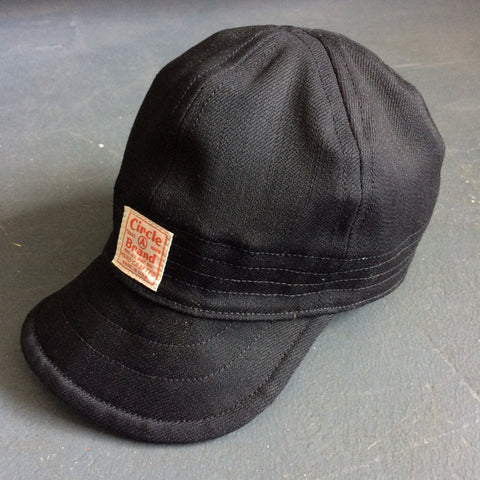 Foundry Cap in Solid Black
