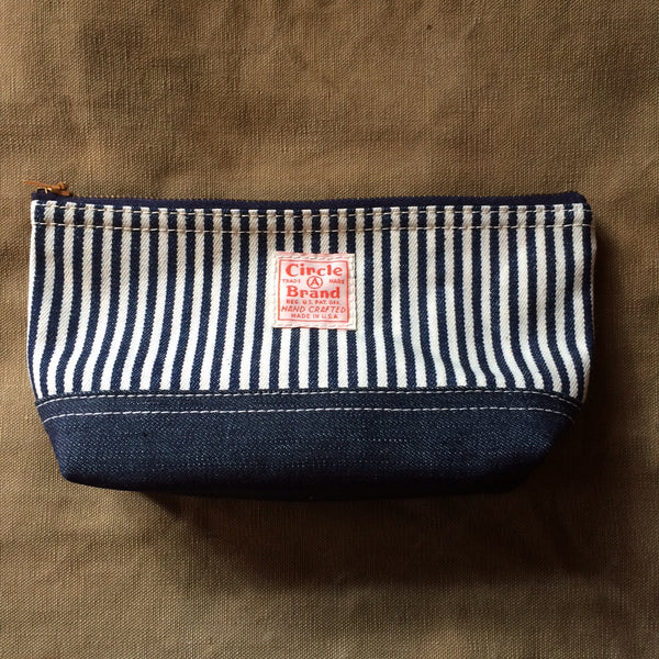 Utility Pouch in Hickory Stripe