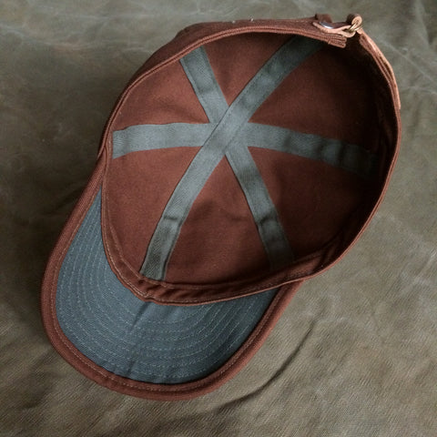 Switchyard Cap in Tobacco Brown
