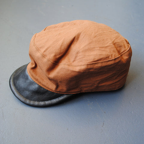 Oiler Cap in Brown Duck