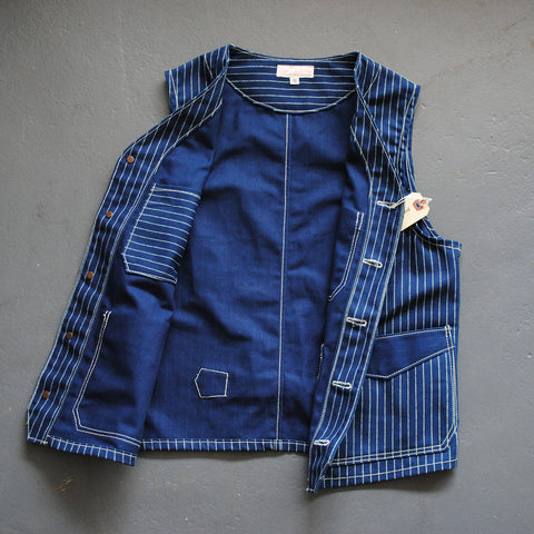 Wabash Stripe Work Vest