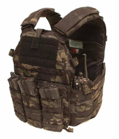 Multicam Black Plate Carrier