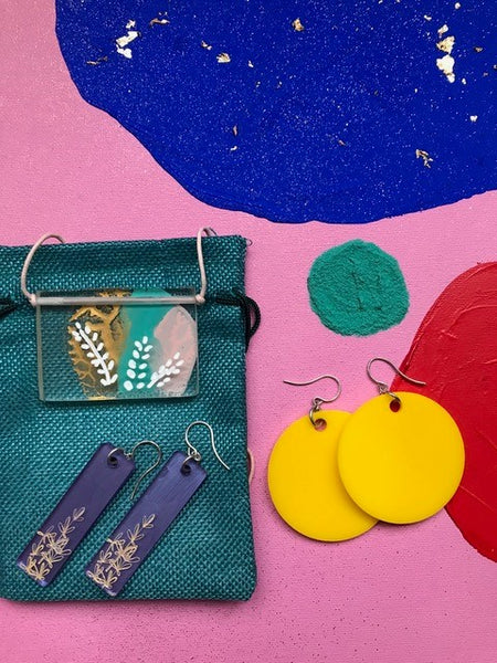 Making Perspex Jewellery Workshop | with Andrea Hughes | Saturday August 31st, 2019