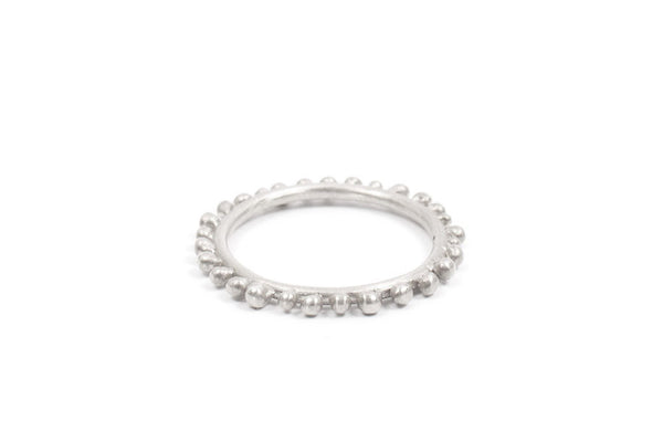 Elliptical Ring (Sterling 925) by Abby Seymour