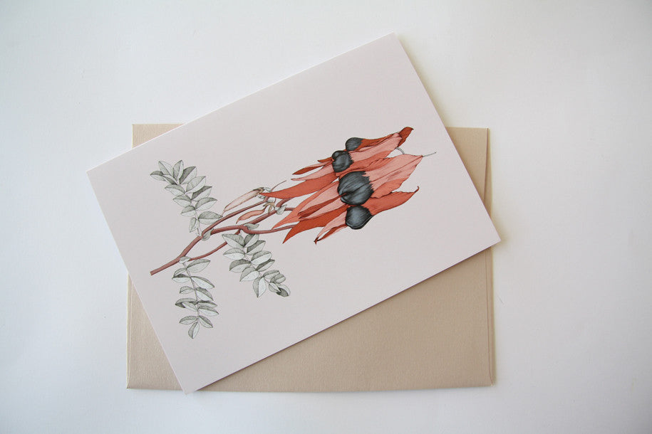 Pea Time Greeting Card by Edith Rewa