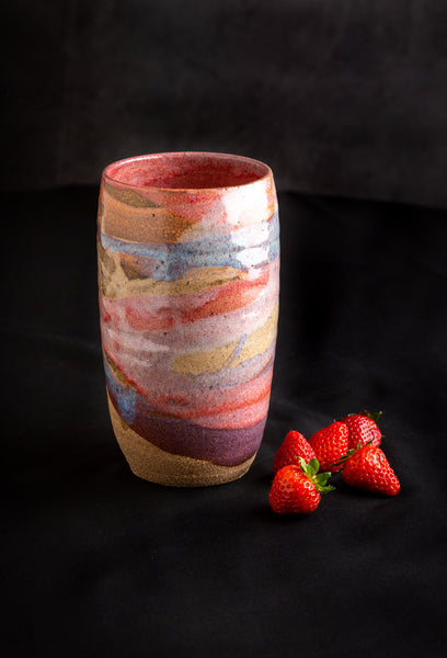 Large Vase by Clay by Tina