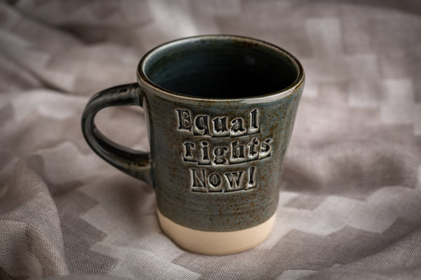 'Equal Rights Now!' Mug by Jade Lees-Pavey