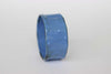 Enamel Copper Bangle (Pale Blue) by Melanie Rice
