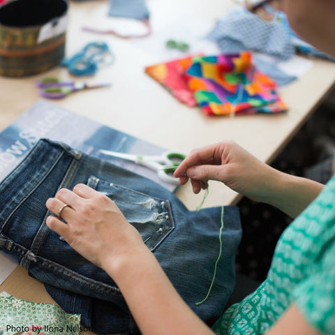 Hand Sewing Workshop | with Gaye Naismith  | Friday 26th July, 2019