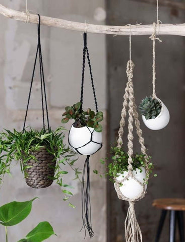 Macrame | Make a Pot Hanger | with Jessie Dierickx | Saturday 11th May, 2019