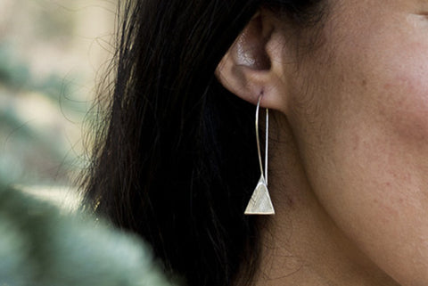 Mountain Drop Earrings by Abby Seymour