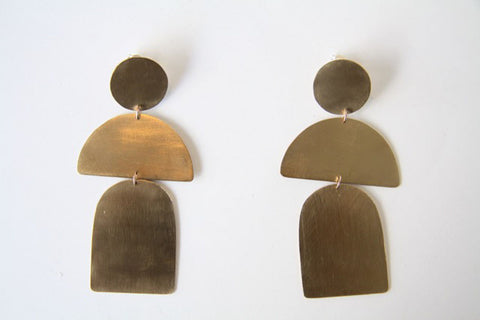 Sister Earrings by The Line of Sun