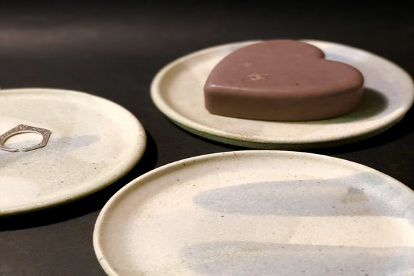 Small Plate - Jewellery/Soap Dish by Clay by Tina