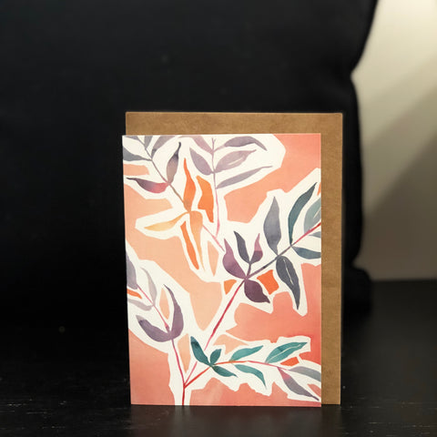 Original Watercolour Gift Card by Lyndsey Knight