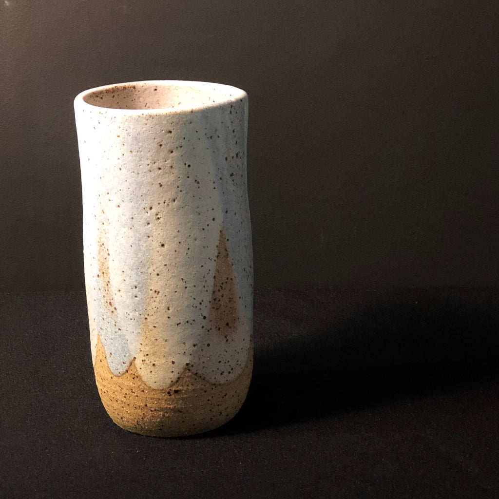 Small Pastel Pour Vase by Clay by Tina
