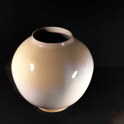 Rounded Vase - White Glaze - by Ceramic Rituals