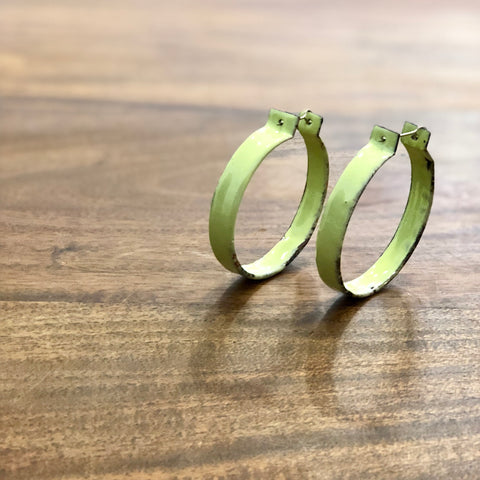 Hoop Earrings by Melanie Rice