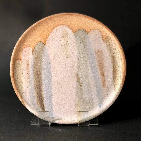 Pastel Pour Plate (M) by Clay by Tina