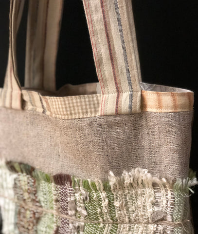 Handmade Bag by Morgan Higgins Handwoven Textiles